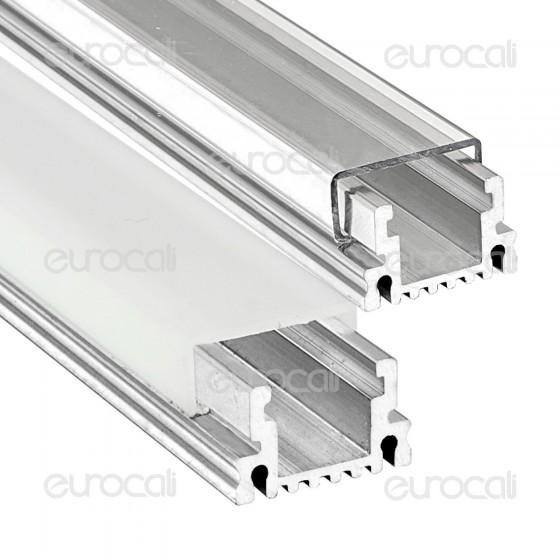 V-Tac Profilo in Alluminio per Strisce LED mod. 9981 e 9982 - Lunghezza 1 metro