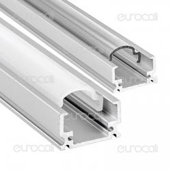 V-Tac Profilo in Alluminio per Strisce LED mod. 9983 - Lunghezza 1 metro - SKU 9983 / 9984