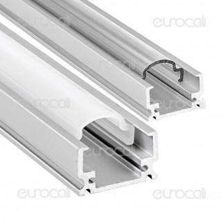 V-Tac Profilo in Alluminio per Strisce LED mod. 9983 - Lunghezza 1 metro