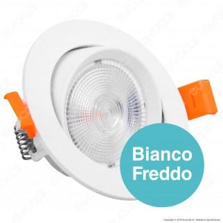 V-Tac PRO VT-2-10 Faretto LED da Incasso Rotondo 10W COB Chip Samsung - SKU 839 / 840 / 841