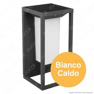 V-tac VT- 77 Lampada LED da Muro 2W con Pannello Solare e Chip Samsung - SKU 784