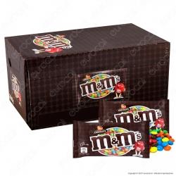 M&M's Choco Confetti con Morbido Cioccolato - Box con 24 Bustine da 45g