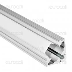 V-Tac Profilo Angolare in Alluminio per Strisce LED mod. 9987 - Lunghezza 1 metro - SKU 9987