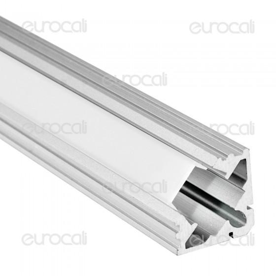 V-Tac Profilo in Alluminio per Strisce LED mod. 9987 - Lunghezza 1 metro