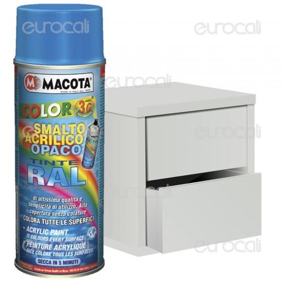 Vernice Spray Macota - Smalto Acrilico Opaco disponibile in 26 Tinte RAL