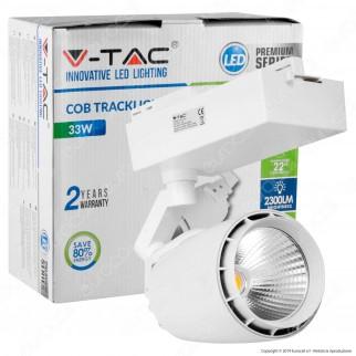 V-Tac VT-4534 Track Light LED COB 33W Colore Bianco - SKU 1229