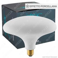 Daylight IDRA Lampadina E27 Filamento LED 6W Ufo Effetto Porcellana Dimmerabile CRI≥90 - mod. 700247.0IA