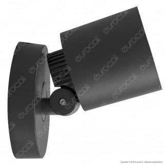 Lutec Explorer Lampada LED da Muro 7W RGB+W 3in1 WiFi IP54 - mod. 6609204118