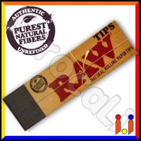 Raw Filtri In Carta Non Sbiancata - Blocchetto Singolo