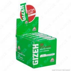 Cartine Gizeh Super Fine Corte Extra Slim Cut Corners - Scatola da 50 Libretti