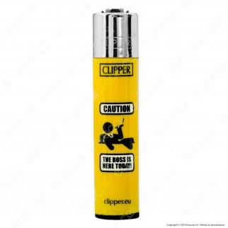 Clipper Large Fantasia Signal 2 - Box da 48 Accendini