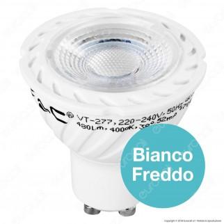 V-Tac PRO VT-277 Lampadina LED GU10 7W Faretto Spotlight Chip Samsung - SKU 166 / 167
