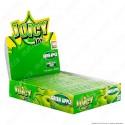 PROV-A00242001 - Cartine Juicy Jay's Lunghe King Size Slim Aroma Mela Verde - Scatola Da 24 Libretti