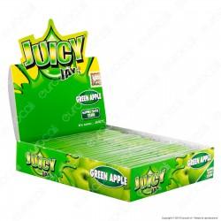 Cartine Juicy Jay's Lunghe King Size Slim Aroma Mela Verde - Scatola Da 24 Libretti