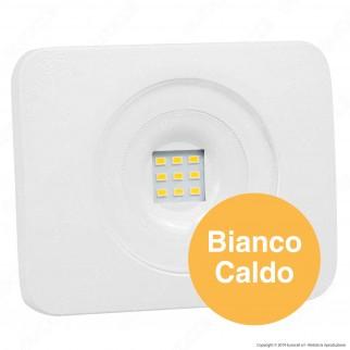 Led Factory Italia Faro LED 10W Ultra Sottile Colore Bianco