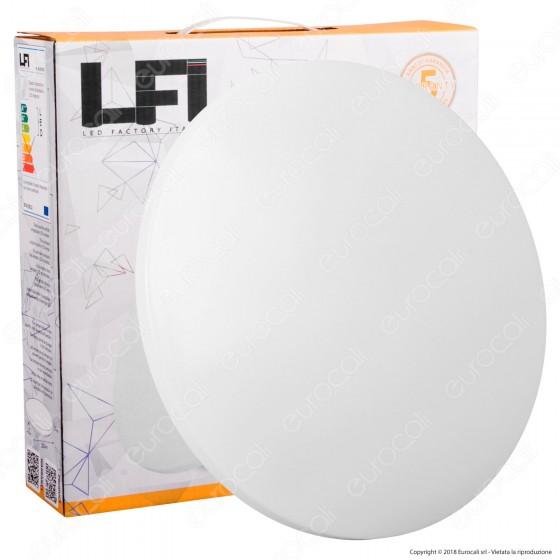 Led Factory Italia Plafoniera LED 15W Bianca Forma Circolare - mod. PL-R25015