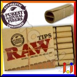 Raw Filtri In Carta Pre Rollati - Pacchetto Singolo