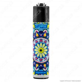 Clipper Micro Fantasia Hippie Mandala - 4 Accendini