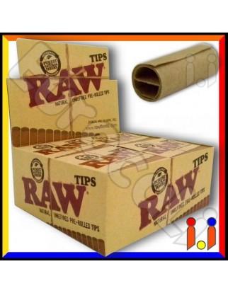 Raw Filtri In Carta Pre Rollati - Scatola da 20 Pacchetti