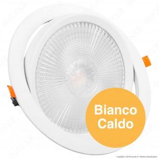 V-Tac PRO VT-2-30 Faretto LED da Incasso Rotondo 30W COB Chip Samsung - SKU 845 / 846 / 832