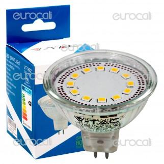 V-Tac VT-1882 Lampadina LED GU5.3 JCDR 3W Faretto Spotlight