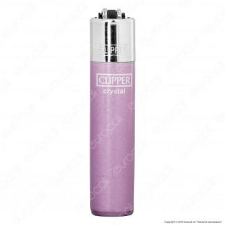 Clipper Micro Fantasia Crystal - 4 Accendini