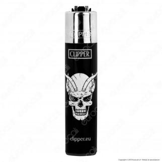 Clipper Micro Fantasia Mad Skulls - 4 Accendini