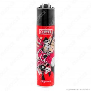 Clipper Micro Fantasia Rock&Punk - 4 Accendini
