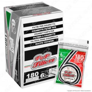 Pop Filters Slim 6mm Lisci - Box 20 Bustine da 180 Filtri