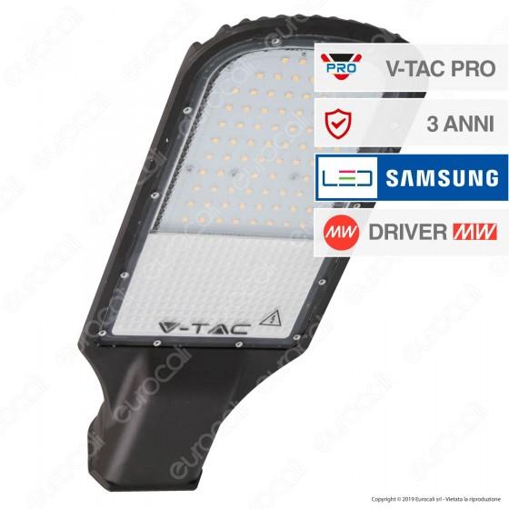 V-Tac PRO VT-51ST Lampada Stradale LED 50W Lampione SMD Chip Samsung - SKU 539