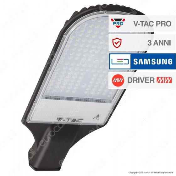 V-Tac PRO VT-121ST Lampada Stradale LED 120W Lampione SMD Chip Samsung - SKU 534