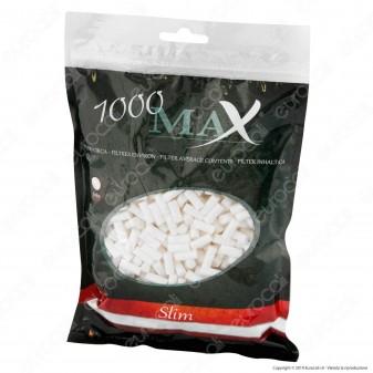 Max Filtri Slim 6mm - Bustina da 120 Filtri