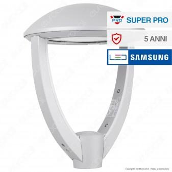 V-Tac SUPERPRO VT-55 Lampione LED da Giardino 50W Lampione SMD Chip Samsung Fascio Luminoso Type 3M - SKU 782