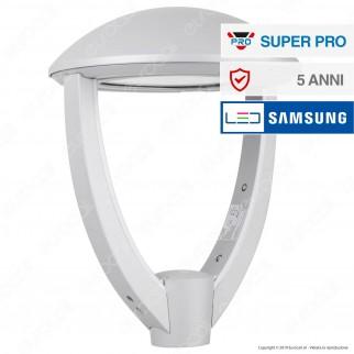 V-Tac SUPERPRO VT-105 Lampione LED da Giardino 100W Lampione SMD Chip Samsung Fascio Luminoso Type 3M - SKU 783