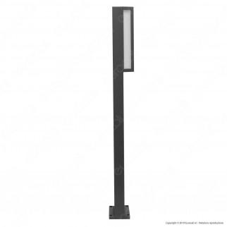 Lutec Qubo Lampada LED da Terra 16W RGB+W 3in1 WiFi IP54 - mod. 5193003118