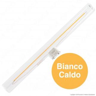 Daylight Lampadina LED S14d 6W Tubolare Attacco Singolo 300mm CRI≥95 Dimmerabile - mod. 700690.00A