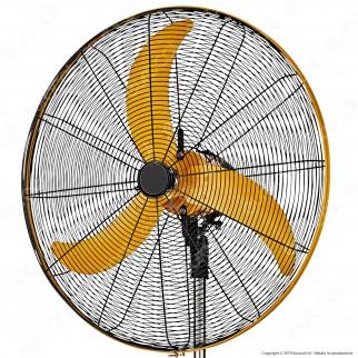 CFG Silente Ventilatore a Piantana con Motore a Corrente Continua 76 cm - Mod. EV021