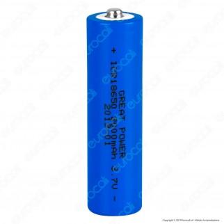 Velamp Batteria a Litio ICR18650 - Batteria Singola