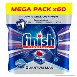 Finish Powerball Quantum Max per Lavastoviglie - 60 Pastiglie