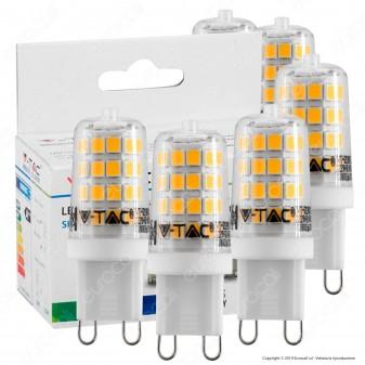 V-Tac VT-2243 Super Saver Pack Confezione 6 Lampadine LED GU9 3W - SKU 2745