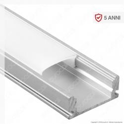 V-Tac VT-8113 Profilo in Alluminio per Strisce LED - Lunghezza 2 metri - SKU 3355