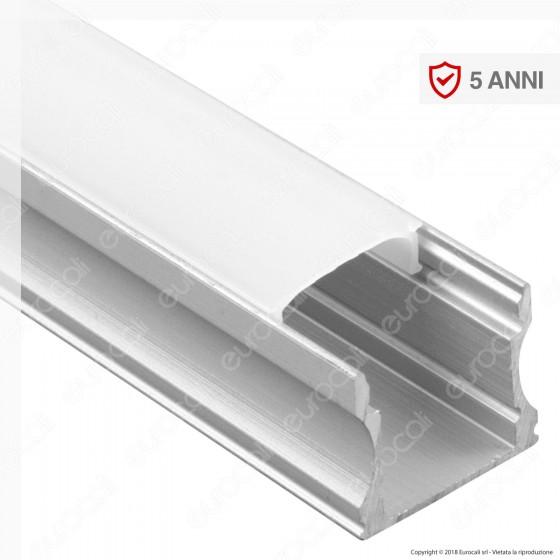 V-Tac VT-8110 Profilo in Alluminio per Strisce LED - Lunghezza 2 metri - SKU 3354