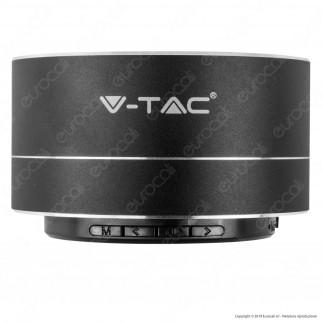 V-Tac VT-6133 Speaker Bluetooth Portatile 3W con Microfono Ingresso MicroSD e Radio FM - SKU 7712 / 7713 / 7714 / 7715