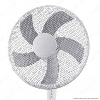 CFG Bianco 40 Ventilatore a Piantana 40 cm - Mod. EV073