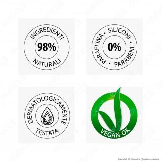 Glenova Cosmetics Maschera per Capelli Nutriente con Olio di Argan - Barattolo da 500ml