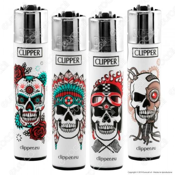 Clipper Large Fantasia Skulls - 4 Accendini