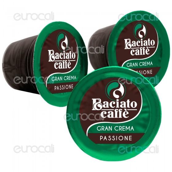 100 Capsule Baciato Caffè Passione Travolgente Gran Crema Cialde Compatibili Nespresso