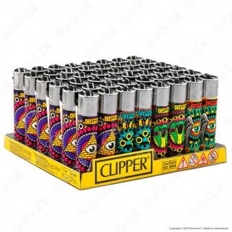 Clipper Large Fantasia Eye Mandalas 2 - Box da 48 Accendini