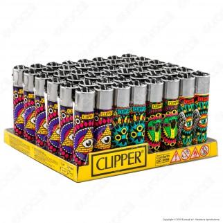 Clipper Large Fantasia Eye Mandalas - Box da 48 Accendini