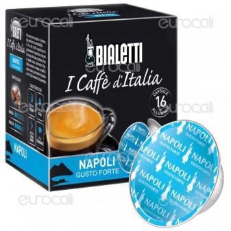 16 Capsule Caffè Bialetti Napoli Gusto Intenso Cialde Originali Bialetti